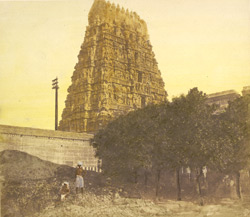 Great Hindoo temple, Madras (St Thomé)